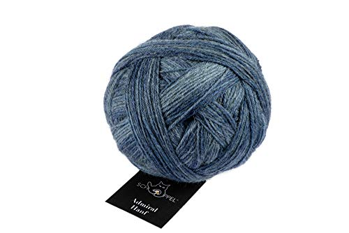 Schoppel Admiral Hanf Fb. 2376 Workwear, Sockenwolle zum Socken Stricken oder Häkeln