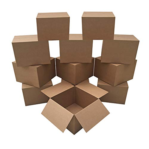"""Uboxes Brand Box Bundles: (12 Pack) Large Moving Boxes 20""""x20""""x15"""""""