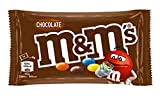 M&Ms Choco Snack en Bolitas de Colores de Chocolate con Leche 40 g - Pack de 24