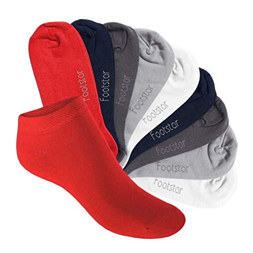 Footstar Kinder Sneaker Socken (10 Paar) - Sneak it! - Metropolis 27-30