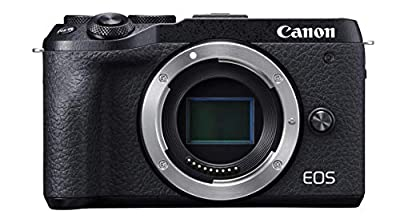 Canon EOS M6 Mark II Mirrorless Camera from Canon USA