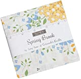 Spring Brook Charm Pack by Corey Yoder; 42-5 Inch Precut Fabric Quilt Squares