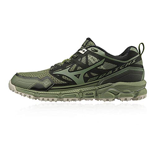 Mizuno Wave Daichi 4, Zapatillas de Trail Running Mujer, Vert Noir, 40.5 EU