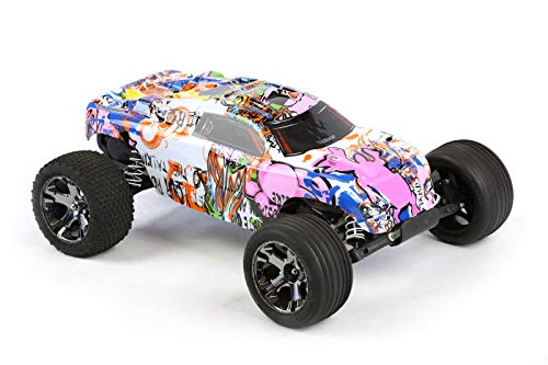Compatible Custom Body Graffiti Pink Pig Style Replacement for 1/10 Scale RC Car or Truck (Truck not Included) R-PIG-01