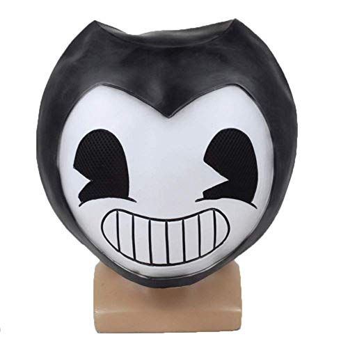 Xmecos Game Character Mask Cosplay Horror Latex Masks Helmet Halloween Party Props White