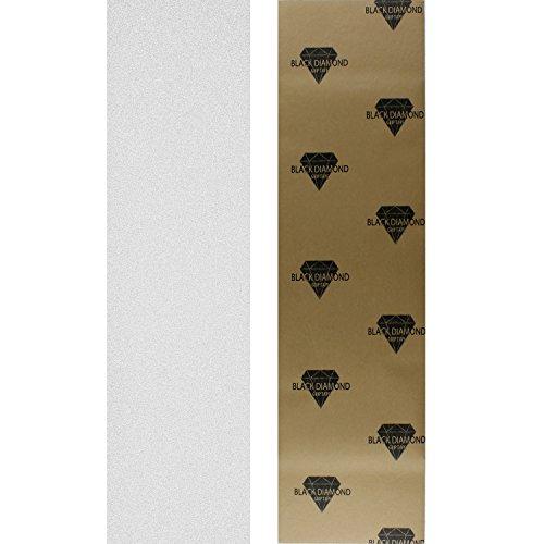 """Black Diamond Longboard Skateboard Grip Tape Sheet 10"""" x 48"""" Clear"""