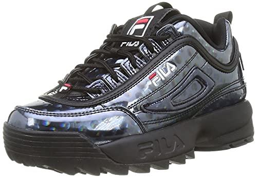 FILA Disruptor F wmn Sneaker Donna, Nero (Black/Polkadot), 36 EU