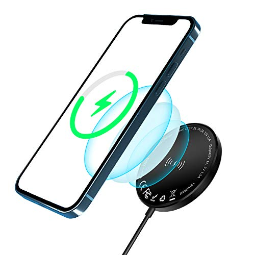 Magnetic Wireless Charger for iPhone 12, LESHP Mag-Safe Wireless Fast...