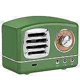 Flytise Altavoz BT Altavoz BT inalámbrico Portátil BT 4.1 Soporte Tarjeta de Memoria Llamada telefónica Recepción de Radio Batería de Larga duración Bocina Bluetooth