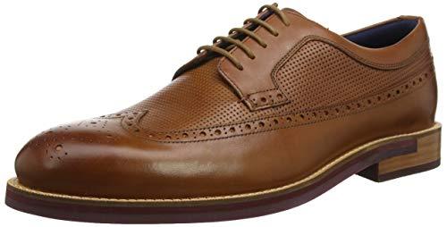 Ted Baker Deelung, Zapatos de Cordones Brogue Hombre, Marrón (Dk Tan Dk Tan), 45 EU