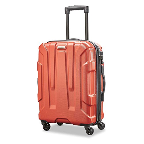Samsonite Centric Hardside Expandable Luggage with Spinner Wheels, Burnt Orange, Carry-On 20-Inch