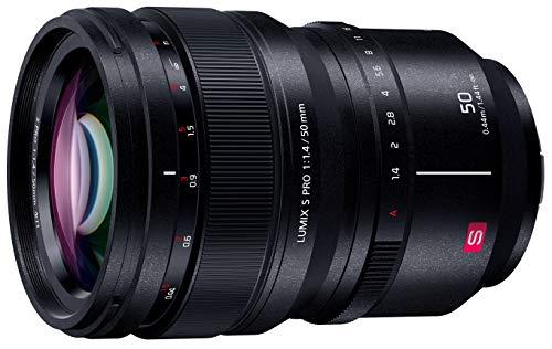 パナソニック 大口径標準単焦点レンズ フルサイズミラーレス一眼 Lマウントシステム用 ルミックス LUMIX S PRO 50mm F1.4 ブラック S-X50