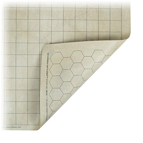 Chessex Role Playing Play Mat: Battlemat Double-Sided Revers