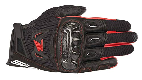 Alpinestars - Motorradhandschuhe SMX-2 Air Carbon V2 Glove Black Red - M