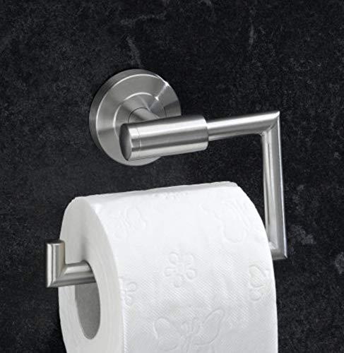 Wand Toilettenpapierhalter aus hochwertigem Edelstahl matt WC-Papierrollenhalter