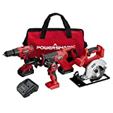 Best Cordless Power Tools - PowerSmart PS76400C 20V Cordless 4-Tool Combo Kit Review
