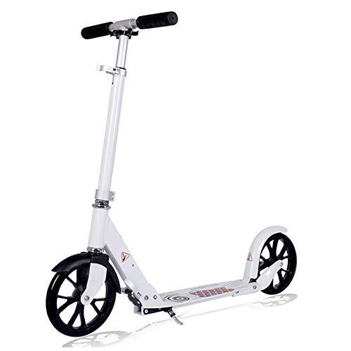 LIYANJJ Scooters Deportivos, Patinete Deslizante con Ajuste de Altura Flexible, Mecanismo Abierto de 1 Patada, Patinete portátil con luz, Adolescentes