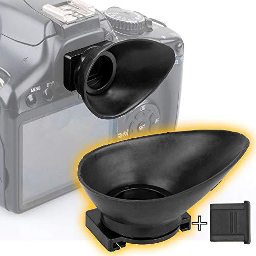 Ruberg- Goma de Ocular para Canon EF 18mm Ocular Visor Ocular Copa Ocular Visor Protector Ocular EOS 1300D 1200D 1100D 1100D 760D 750D 700D 650D 600D 550D 500D 450D 450D 400D 350D
