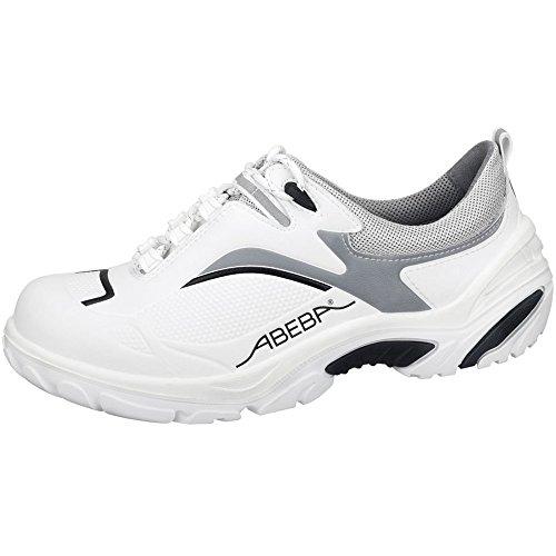 Abeba Abeba, Herren Sicherheitsschuhe Mehrfarbig Weiß/Schwarz 36