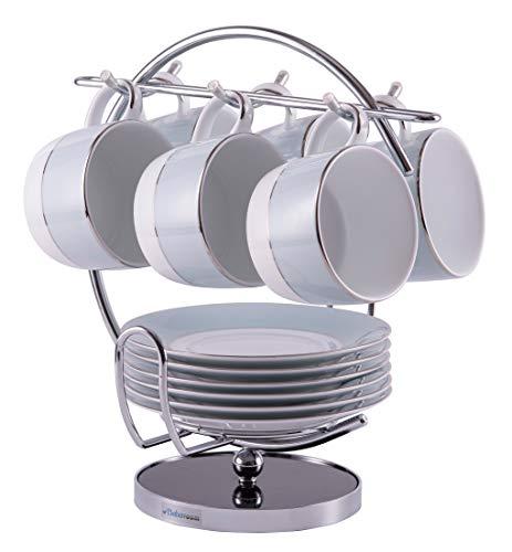 Tassenbaum mit Platz für Untertassen,Tassenhalter Becherhalter in einzigartigem Design, Babavoom® H5