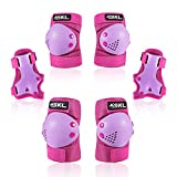 Protective Gear for Kids, Kids Knee Pad Elbow Pads Guards 3 in 1 Protective Gear Set for Skating Cycling Bike Rollerblading Scooter for Age 6-13