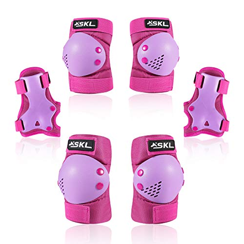 Protective Gear for Kids,Kids Knee Pad Elbow Pads Guards 3 in 1 Protective Gear Set for Skating Cycling Bike Rollerblading Scooter