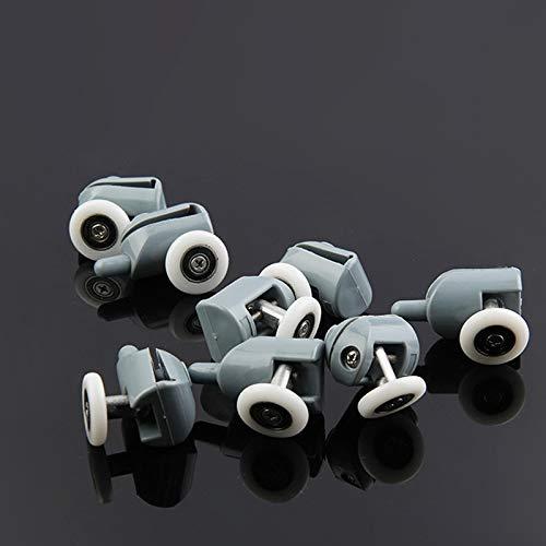 X-BAOFU, 8pcs Einzel Duschtüren Roller/Runners/Räder/Rollen/Guides 25mm / 23mm Durchmesser Home Bad DIY Ersatzteile (Größe : 23mm)