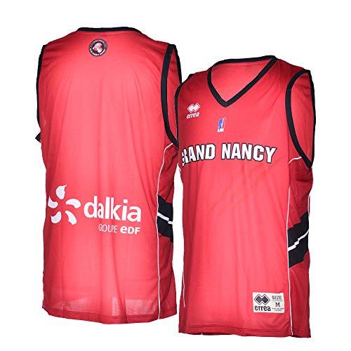 SLUC Nancy Basket - Camiseta Oficial para Exteriores 2018-2019, Unisex Adulto, Color...