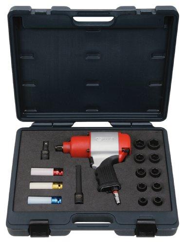 KS TOOLS 515.1220 Module de clé à choc pneumatique avec douilles à choc et accessoires