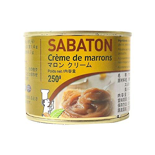 【mamapan】 サバトン マロンクリーム 250g 缶詰 マロン 栗
