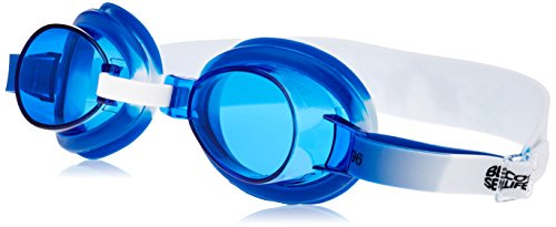 Beco Kinder Sealife Schwimmbrille, weiß/Blau, Uni