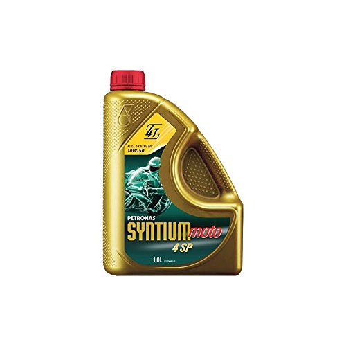 Aceite de motor Petronas Syntium Moto 4 SP 10W40 – Bidón de 1 L