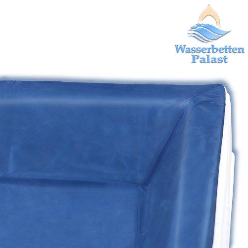 Liner - Vinyl-Schutzfolie für RWM AQUA CLASSIC - die Schutzwanne für Ihr Wasserbett - Höhe innen: 20-23 cm keilförmig - alle Wasserbettgrößen z.B. 200x220 cm