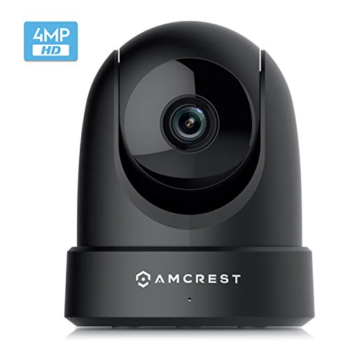 Amcrest 4MP UltraHD Indoor WiFi Camera, Security PTZ Camera