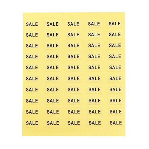 【250枚】台紙用シール イベントシール 10×5mm アクセサリー台紙用 日本製 (SALE・透明, 250枚)