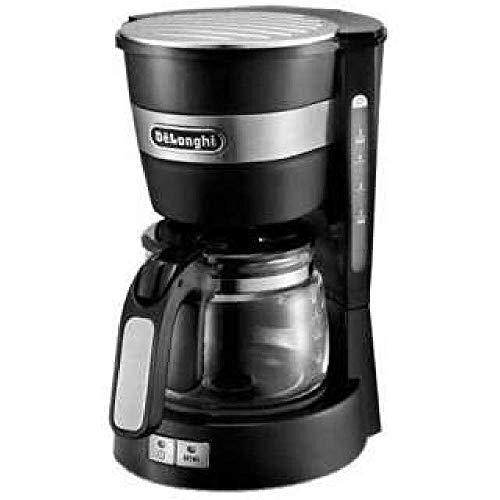 デロンギ(DeLonghi) ドリップコーヒーメーカー ブラック アクティブシリーズ 5-6カップ ICM14011J