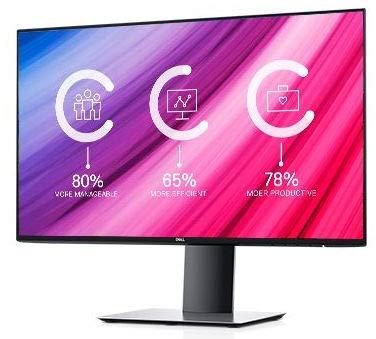 Dell UltraSharp 24 InfinityEdge UltraSharp U2419HC, 60.5 cm, W125803837 (UltraSharp U2419HC, 60.5 cm (23.8), 1920 x 1080 pixels, Full HD, LED, 8 ms, Silver)