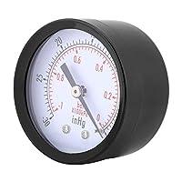 BSPTバックマウントメーターミニダイヤル空気真空圧力計産業用圧力計