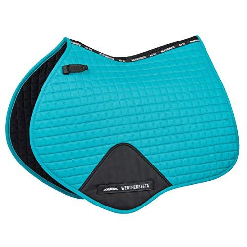 Weatherbeeta Full Size Prime Jump Shaped Saddle Pad One Size Turquoise