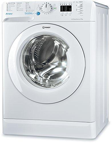 Indesit BWSA 61053 W IT Libera installazione Carica frontale 6kg 1000Giri/min A+++ Bianco lavatrice