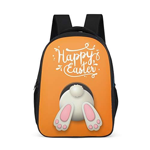 O2ECH-8 Easter Rabbit Yourturn - Mochila para niña, Mochila