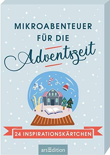 Mikroabenteuer für die Adventszeit. 24 Inspirationskärtchen: Adventskalender-Kartenbox mit 24 abwechslungsreichen Ideen zum Ausprobieren