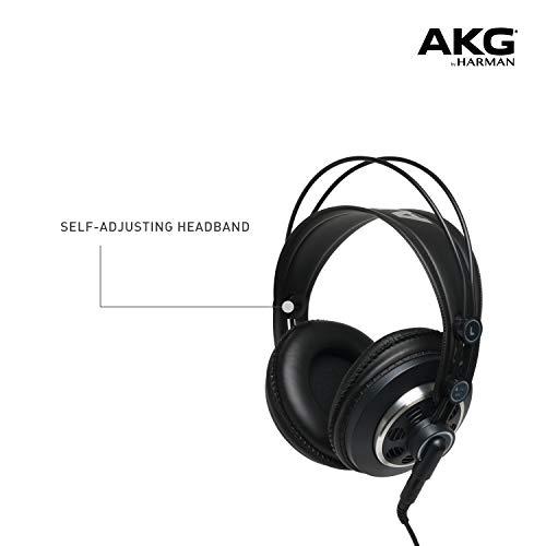 AKGプロフェッショナルスタジオモニター・セミオープンヘッドフォンK240MK2【国内正規品】