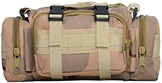 Oxford Tactical Molle Waist Bag Chest Bag Crossbody Pack Handbag for Outdoors Hiking Camping