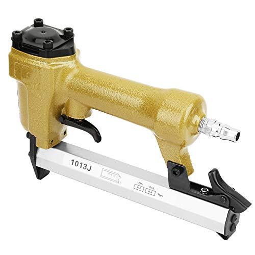 Pistola de clavos de aire para carpintería, pistola de grapas de aire, grapadora neumática, pistola de clavos, remachado eficaz para carpintería