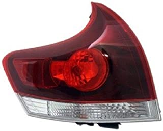 Go-Parts - OE Replacement for 2013 - 2016 Toyota Venza Rear Tail Light Lamp Assembly / Lens / Cover - Left (Driver) Side 81560-0T020 TO2800190 Replacement For Toyota Venza