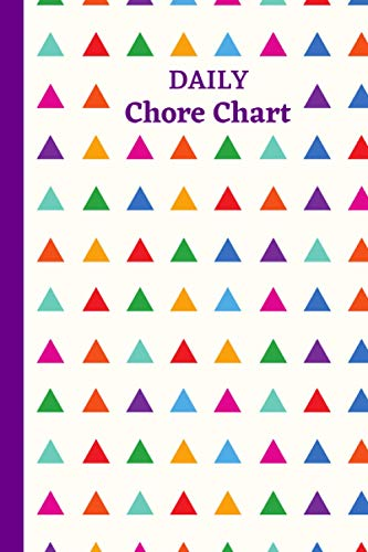 Daily Chore Chart: Plan out Your Chores with Check Lists and To Do Lists, Discover the Easy Way to Remember and Space for Additional Notes, Creative Gift Suitable for All Ages, Organizer Log Book