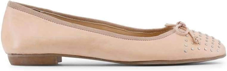 Arnaldo Toscani Women's Leather Ballet Flats, 1098504_Cipria
