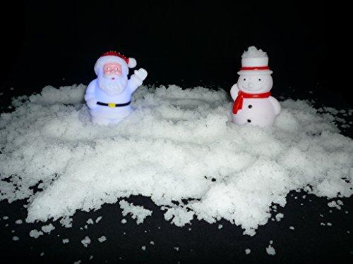 PK Green Instant Fake Snow - Christmas Xmas Winter Home, Party, Nativity Decoration Set of 4