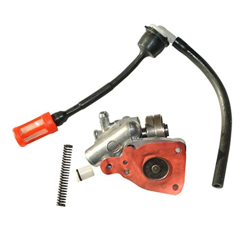 JRL Motor Motor Brandstof Olie Pomp Assy & Gas Brandstof Lijn & Filter Fit Stihl 090 070 Zaag
